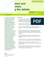 Individualism and Consumerism - Reframing the Debate