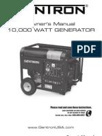 Gentron Pro2 10000 Manual