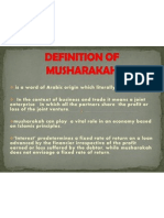 Definition of Musharakah