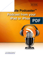 How to Podcast from your iPad and iPhone