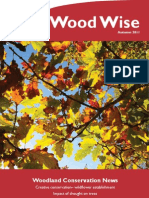 Wood Wise - Wildflowers & Drought - Autumn 2011