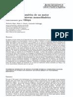 Modelización numérica de un motor de combustión