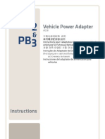 Vehicle Power Adapter
