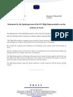 EU Press Release