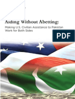Pakistan Aiding Without Abetting