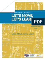 Lets Move Lets Learn