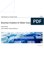 Business Analytics for Better Outcomes by Karen Parrish