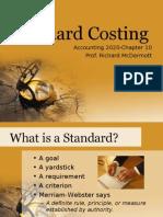 Standard Costing April 12 2008