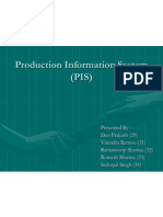Production Information System