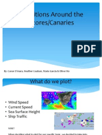 Conditions Around the Azores/Canaries