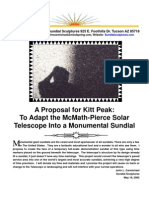 Mcmath Pierce Proposal