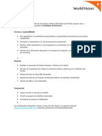 World Vision Perú Facilitador de Patrocinio