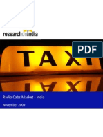 Radio Cabs Market - India - Sample