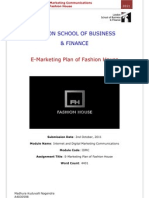 E Marketing Plan Of Fashion House