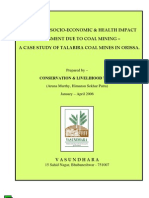 Ecological Socio Economic and Health Impacts Assessment Due to Coal Mining a Case Study of Talabi
