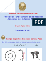 Principio de Funcionamiento de Maquinas as o de Induccion as