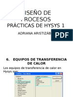 Tutorial Hysys. Inter Cam Bi Adores de Calor