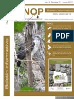 Boletin Informativo UNOP Vol. 6 Nº1 - 2011
