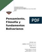 Pensamiento Bolivariano