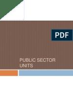 Public Sector Units