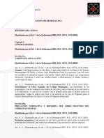 Liibro Segundo de la Reglamentación Metropolitana