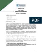 Nota técnica sobre la administración por objetivos