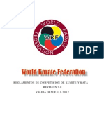 Normativa de Competicion 2012 Wkf
