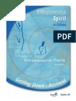 Entreprenual Profile...