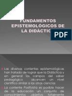FUNDAMENTOS EPISTEMOLÓGICOS DE LA DIDÁCTICA