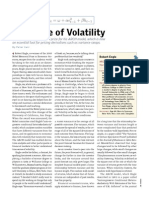 The Value of Volatility