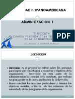 Tema 6. Dirección - Ejecución UHISPANOAMERICANA