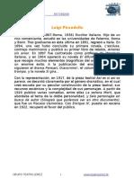 Biografía Luigi Pirandello