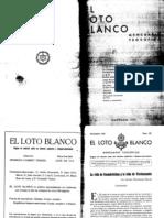 Loto Blanco Noviembre 1931