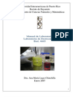 Manual de Lab Oratorio BIOL 4605