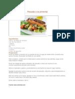 Recetas de Cocina Pescado a La Pimienta 2012