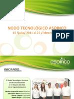 El trabajo realizado por el Nodo Tecnológico Asoinco