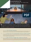 10 Commandments for a Non Profit Company Board