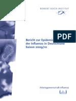 Bericht zur Epidemiologie der Influenza in Deutschland Saison 2009/10