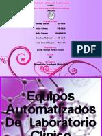 Equipos Automatizados de Lab Oratorio Clinico (BAN-207)00