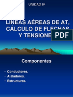8.-Lineas Aereas de at Calculo de Flechas y Tensiones