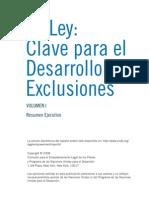 La Ley, Clave Para El Desarrollo Sin Exclusiones