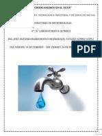 Microoganismos en El Agua