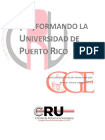 Reforma Universitaria CRU