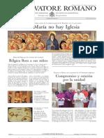 L´OSSERVATORE ROMANO. 18 Marzo 2012