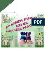 EXAMEN FÍSICO EN EL RECIEN