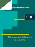 Alimentacion Del Lactante Presentacion Clase 2010 Med