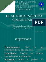 EL AUTODIAGNÓSTICO COMUNITARIO