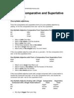 Comparative Superlative 2011
