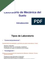 Introduccion a Lab. de Mec. de Suelos