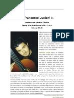 Press Recital 20081206